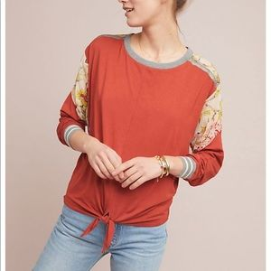 Anthropologie Tiny Pippa pullover top medium